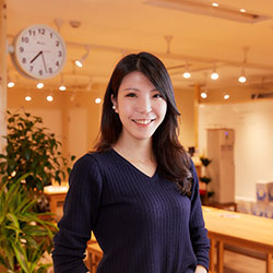 (株)ハピキラFACTORY代表取締役 正能 茉優さん